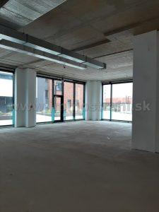 Obchodný priestor 107 m2 na prenájom v polyfunkčnom centre STEINERKA BC na Legionárskej – Krížnej ulici