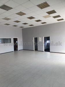 Skladový priestor na prízemí 300 m2 na prenájom na Ul.Stará Vajnorská