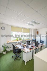 Reprezentatívny kancelársky priestor na prenájom o ploche 72,75 m2 v objekte na Nám.SNP