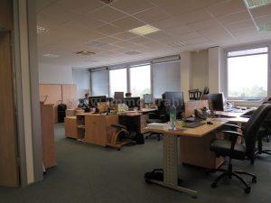 Reprezentatívny kancelársky priestor na prenájom o ploche 367 m2 v polyfunkčnej budove na Gagarinovej ulici
