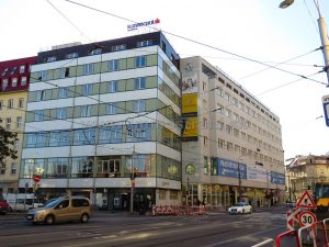 Obchodný priestor 1012 m2 vhodný na nočný klub na prenájom v budove LUXOR na Štúrovej ulici