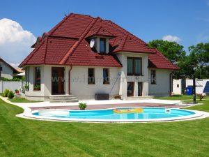 Nádherná slnečná priestranná novostavba 7-izbového rodinného domu 461 m2 na pozemku 1457 m2 v Hviezdoslavove