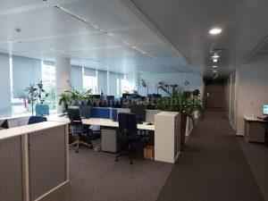 Reprezentatívny kancelársky priestor na prenájom o ploche 350 m2 v budove BBC I PLUS na Plynárenskej ulici